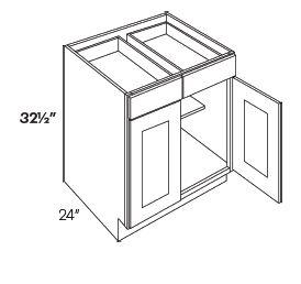2 Drawer 2 Door Base Cabinets-HA