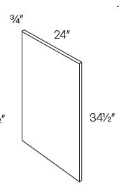 Base End Panel