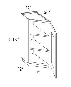 Angle Base End Cabinets