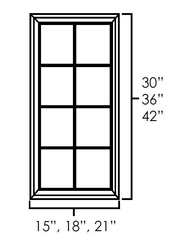 Single Glass Doors