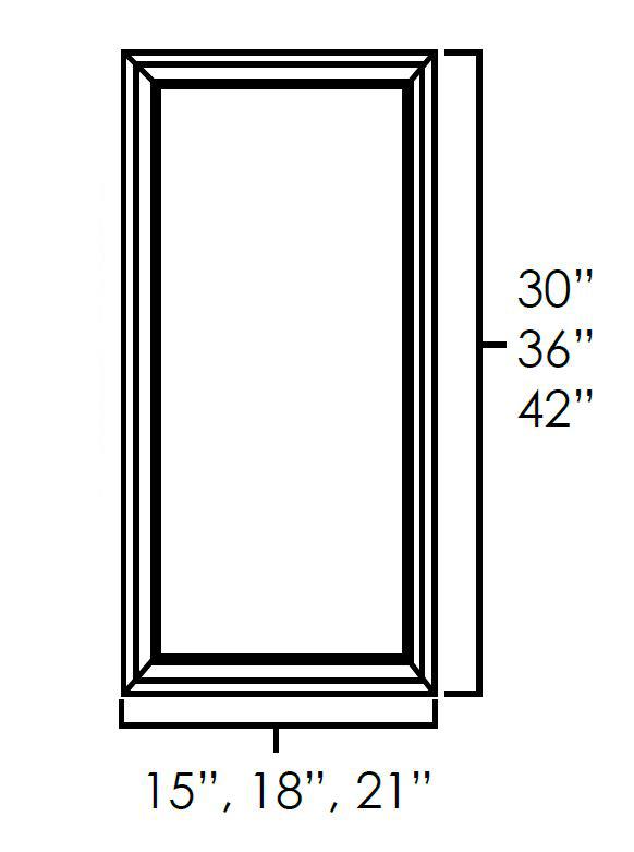 Single Glass Doors