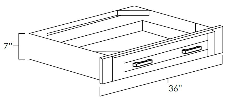 Under Counter Knee Drawers