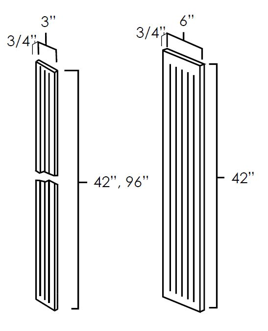 Fluted Wall Filler