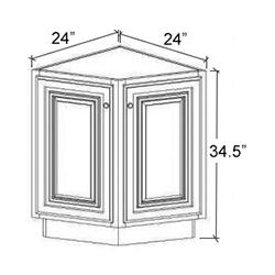 Base End Angle Cabinet