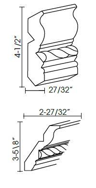 Crown Moldings - CM96C-4