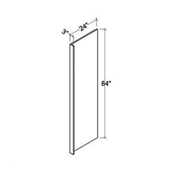 Refrigerator End Panel-REP2496(3)
