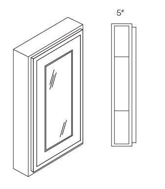 1 Door Medicine Cabinets