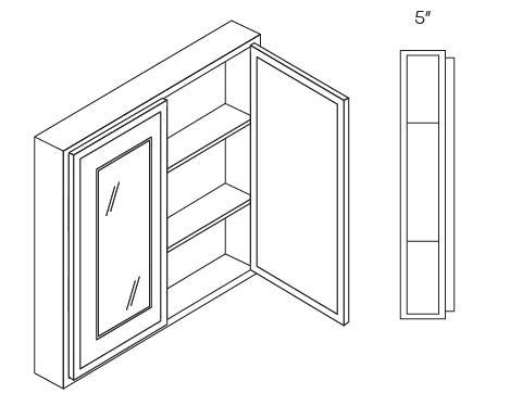 2 Door Medicine Cabinets