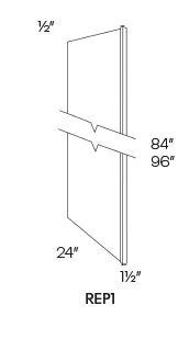 Refrigerator End Panels-REP1