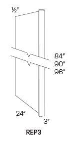 Refrigerator End Panels-REP3