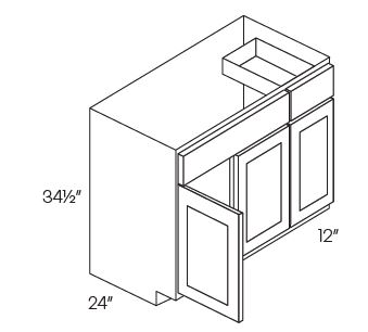 Combination Sink Base Cabinets
