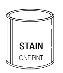 Touch Up Stain