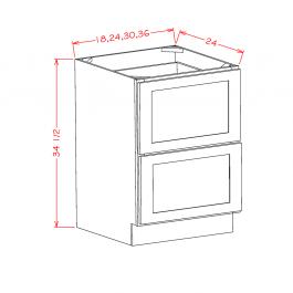 2 Drawer Bases