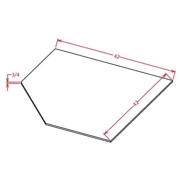 Sink Bases-Diagonal Sink Floor