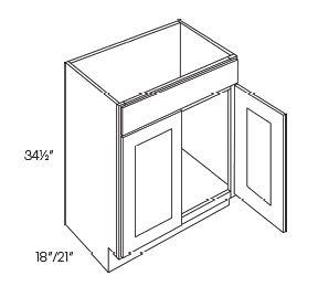 2 Door Vanity Sink Base Cabinets
