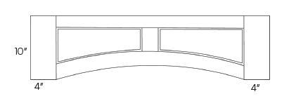 Arched Valances-Flat panel