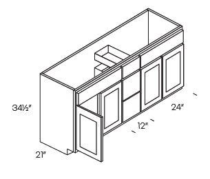 Vanity Drawer Base Cabinets-VDB6021