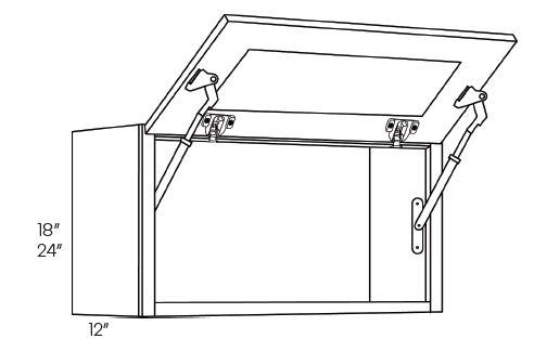 Horizontal Wall Cabinet