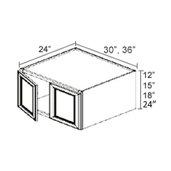 Refrigerator Wall Cabinets - 30