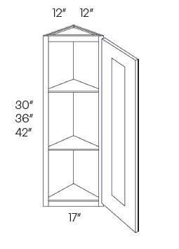 1 Door Wall End Cabinets